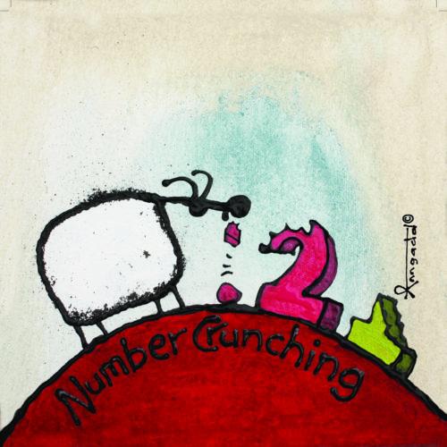 Number Crunching - print