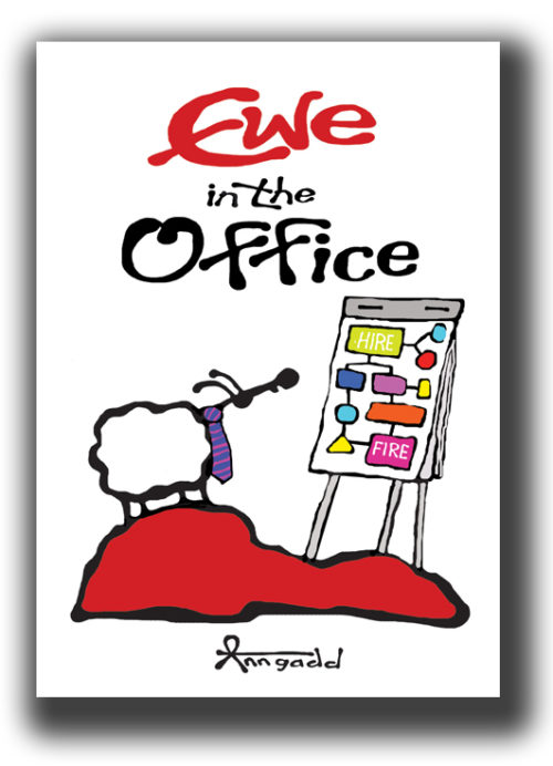 The latest in sheepish humour. This time featuring new office related themes and some old favourites. Hardcover. makes for a great corporate gift!