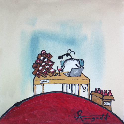 Friendsheep by Ann Gadd