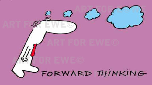 Forward thinking - slide