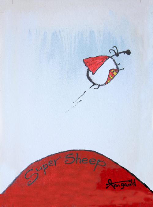 Super Sheep by Ann Gadd