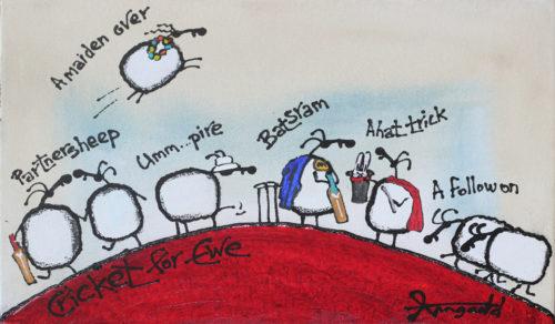 Cricket for Ewe by Ann Gadd
