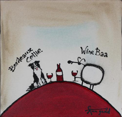 Bordeaux Collie by Ann Gadd
