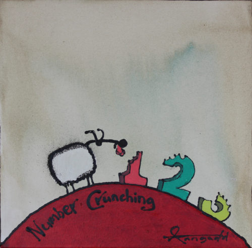 Number Crunching by Ann Gadd